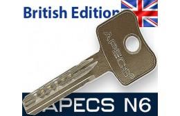 Ключи для цилиндров Apecs N6