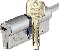 Цилиндр Cisa Astral S 45х30, шток, хром