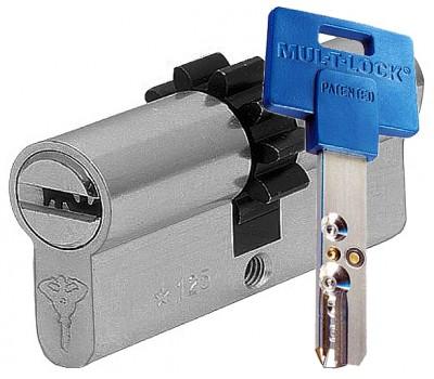 цилиндр MUL-T-LOCK 164+, 35-35, шестеренка, кл-шток, золото