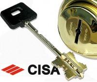 Ключ Cisa сувальдный под броненакладку