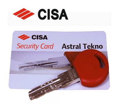 Ключ Cisa Astral Тekno