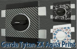 Дизайнерская версия популярных накладных замков GERDA TYTAN ZX AQUA PRINT