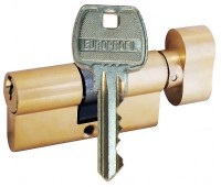 цилиндр gerda WK E1 35-35 кл-вертушка, латунь
