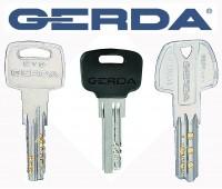 Плоские (лазерные) ключи Gerda