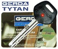 Ключ Gerda Tytan
