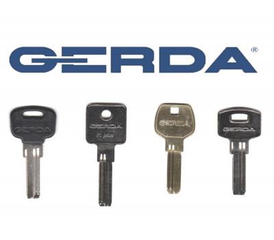 Плоские (лазерные) ключи Gerda WKM 1 H PLUS