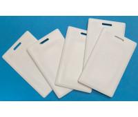 Заготовка RFID карта толстая белая