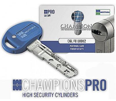 Ключ Mottura Champions Pro