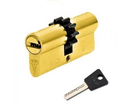 цилиндр MUL-T-LOCK 7-7  45х31, шестеренка, кл-шток, хром