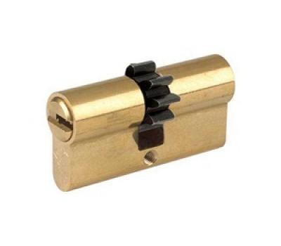 цилиндр MUL-T-LOCK 7х7 43-33 шестерёнка кл-вертушка золото