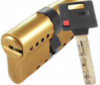 цилиндр MUL-T-LOCK CLASSIC PRO, 31х31, кл-кл, кулачок, латунь