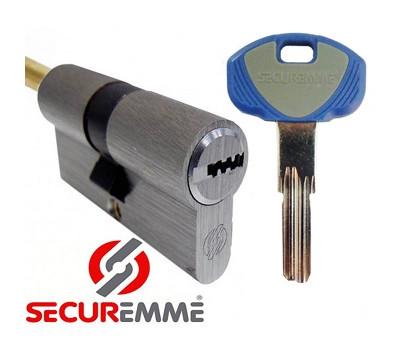 Цилиндр securemme EVO k-1 57-32 ключ-шток хром